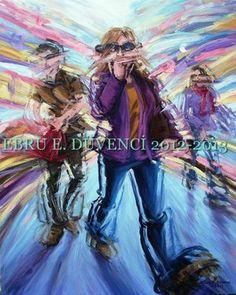 "Saatchi Online Artist Ebru E Duvenci; Painting, ""untitled"" #art"