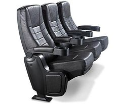 Star Delight Rocker Real Movie Theater Seating. 1 Row of 3 Chairs | Home Theater Seating Reviews And Ratings