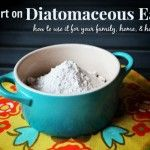 Diatomaceous Earth for your Family, Home, and Homestead - We use this almost daily here on the farm. This is a good article with a great link in it.