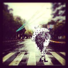 Bajo la lluvia #Illustration