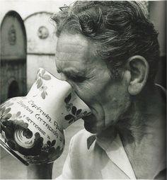 The legend, Giovanni Allegrini, September 1974.