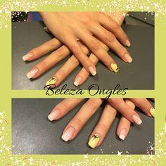 Nails baby boomer