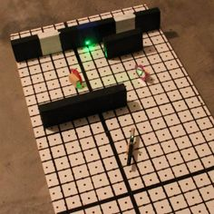 High school students create a game using geometric concepts, mirrors and lasers.