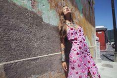 @Debbie Arruda Fortner Love & Lemons Rosita Maxi Dress
