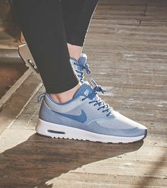 Air Max Thea Blue And Black