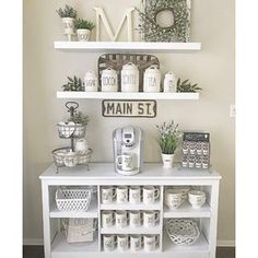 If you are a coffee lover, the best DIY coffee bar ideas for kitchen counter are here to inspire you coffee altar, your coffee worshiping game changes now! bar ideas kitchen counter 21 Charming DIY Coffee Station Ideas for All Coffee Lovers Coffee Nook, Coffee Bar Home, Home Coffee Stations, Coffee Bar Ideas, Cozy Coffee, Kitchen Coffee Bars, Morning Coffee, Coffee Kitchen Decor, Coffee Maker