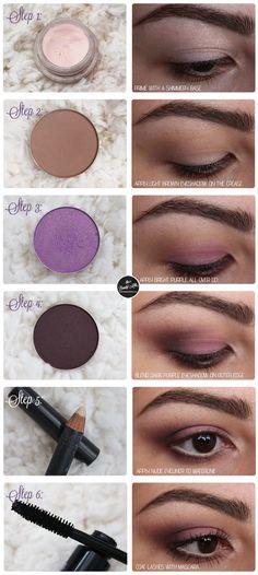 mac sketch parfait amour smokey eye makeup tutorial look http www thebeautymilk