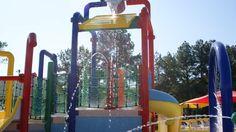 Spray Ground at Yogi's Jellystone Campground Luray, Virginia
