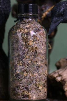 MORRIGAN Ritual Salt Herbal Blend Spell Salts 4oz. Sacred | Etsy