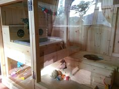 New indoor home all finished setting up... :) - Rabbits United Forum