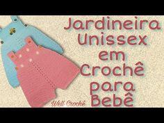 Crochet Bebe, Crochet For Kids, Knit Crochet, Baby Dress Patterns, Crochet Patterns, Crochet Patron, Baby Born, Crochet Crafts, Drink Sleeves