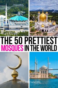 Looking for a dose of wanderlust? Here are pictures and travel tales for 33 of the most beautiful mosques in the world.