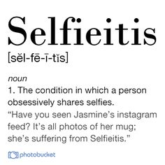 Help cure Selfieitis by entering the #pbMobile Photo Contest!