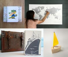 Adventurers | Nautical lovers | Travellers Terrapin and Toad: Etsy gift guide and wrapping ideas