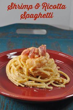 Recipe: Shrimp & Ricotta Spaghetti