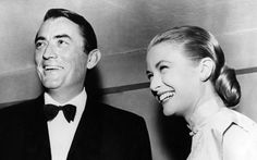 Gregory Peck and Grace Kelly