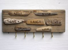 Key Holders For Wall cij wall key holder reclaimed wood cabinbessiescreations
