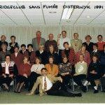 Bridgeclub Sans Fumée uit Oisterwijk bestaat 25 jaar