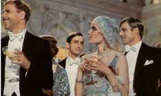 """""""I believe that on the first night I went to Gatsby's house I was one of the few guests who had actually been invited. People were not invited--they went there.""""  - F. Scott Fitzgerald, The Great Gatsby, Ch. 3"""