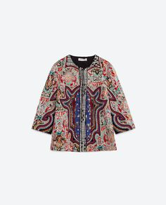 Image 8 of EMBROIDERED JACKET from Zara