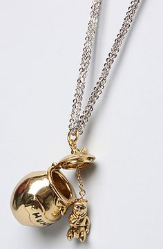 Disney Couture Jewelry The Pooh Collection Hunny Jar Necklace : Karmaloop.com - Global Concrete Culture for my lil girl..