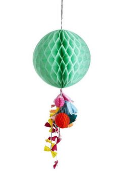mint honeycomb fancy from Poppies For Grace via The Third Row Honeycomb Decorations, Diy Party Decorations, Poppies For Grace, Tissue Balls, Fiestas Party, Happy Party, Party Shop, Perfect Party, Party Planning