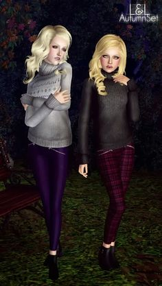 My Sims 3 Blog: New Clothing and Shoes by Laupipi