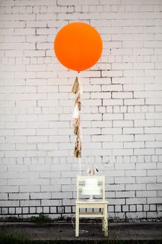 Blush Balloon Tassels, via Etsy // Tuck & Bonte