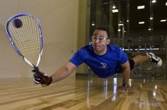 #Racquetball is a fun way to get a great workout. For people with a competitive spirit it's hard to find a more satisfying pastime. Games tend to run about 20 minutes and, despite the short timeframe, players reap plenty of health benefits that include burning fat and an intense cardiovascular workout.  Here's a quick tutorial to help you make sure you know the rules of racquetball before you hit the court.