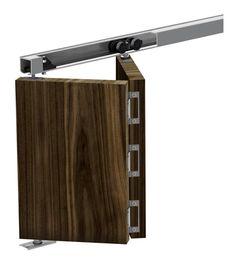 Système coulissant Slid'Up 150 pour portes pliantes 40kg - su5123 - Quincaillerie