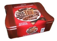 European Cookies with Belgian Chocolate 15 Varieties Tin Net Wt 49.4 OZ (1400 g) - http://www.specialdaysgift.com/european-cookies-with-belgian-chocolate-15-varieties-tin-net-wt-49-4-oz-1400-g/