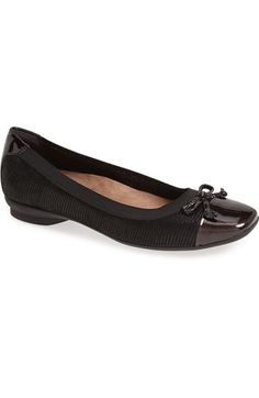 64891c6ab2f Clarks®  Candra Glow  Flat (Women) available at