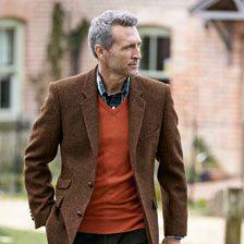 Englische tweed jacke