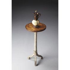 Butler Pedestal Table - Toasted Marshmallow - 1583259