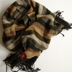 """✂Price Cut✂Scarf Nice scarf made in Italy 100% Vicosa 64"""" x 15"""" Accessories Scarves & Wraps"""
