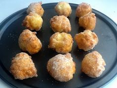 Esponjosos buñuelos sin gluten de Maizena