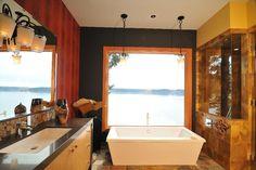 Scenic Bathtub