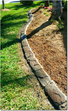 Wisconsin Lake Stone is the newest Design in our Hand Carved Curbing line. Call for your Free Estimate Landscape Curbing, Lawn And Landscape, Landscape Edging, Driveway Resurfacing, Concrete Curbing, Fort Myers Florida, Concrete Contractor, Pool Decks, Wisconsin