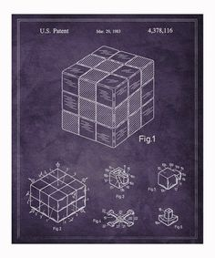 Take a look at this Spatial Logical Toy 1983 Art Print by Oliver Gal on #zulily today!
