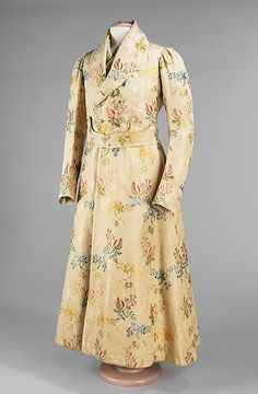 Banyan (ensemble), c. 1830. Brooklyn Museum Costume Collection at The Metropolitan Museum of Art