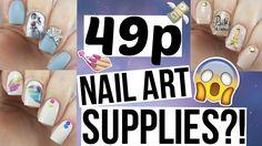 49p NAIL ART SUPPLIES?! | Spangley Nails