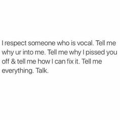 Yes, say it!