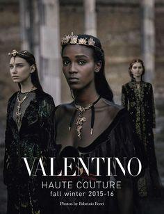 Colección couture de Valentino en editorial de Vogue Italia | en Inspireme.cl