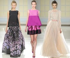 Renaissance Inspired Fashion 2014 | Temperley London Spring/Summer 2014 RTW – London Fashion Week