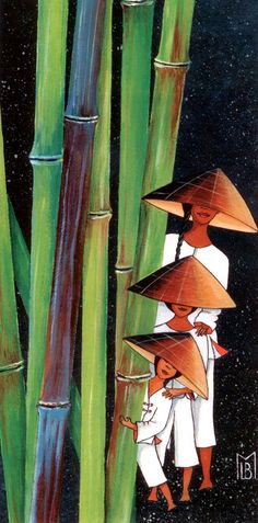 LE-BRIS-MORVAN-3-Vietnamiennes-et-Bambous-II.jpg