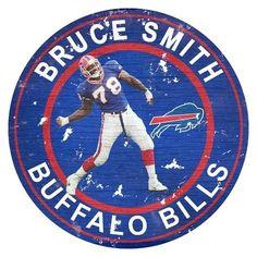 Bruce Smith, Nfl Buffalo Bills, Team Player, Wall Decor, Wall Art, All Star, Kids Rugs, Baseball Cards, Walls
