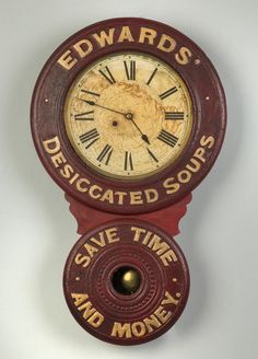 Lot: Baird Clock Co. Advertising Wall Clock, Prattsburg, NY, Lot Number: 0684, Starting Bid: $250, Auctioneer: Cottone Auctions, Auction: Fine Art, Antique & Clock Auction, Date: September 24th, 2016 EDT