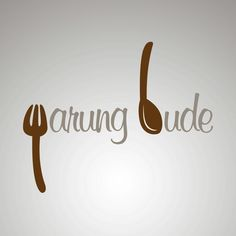 "It's a #logo #design for an eatery. The fork made a ""W"" letter and the spoon made a ""B"" letter. So voila! It's Warung Bude"