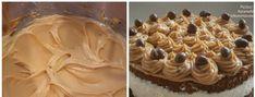 Karamelový krém na dorty, do zákusků a nejlepší je do větrníků recept   iRecept.cz Swiss Roll Cakes, Waffles, Peanut Butter, Cupcake, Rolls, Pie, Cookies, Cream, Breakfast