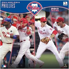 Perfect Timing - Turner 12 X 12 Inches 2013 Philadelphia Phillies Wall Calendar (8011228) by Perfect Timing - Turner. $9.88. Showcase the stars of your favorite team with this rousing team wall calendars. Player action and school photos with player bio information.. Save 38% Off!